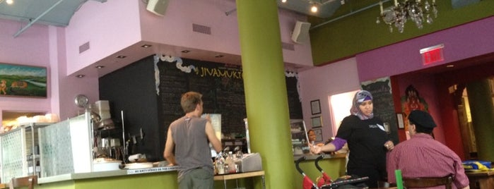 Jivamuktea Café is one of NYC Bucket List.