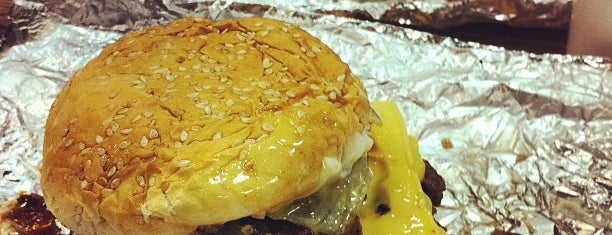 Five Guys is one of Best Seattle Burgers.
