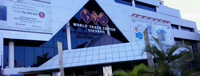 World Trade Center (WTC) is one of Check in #durjana w/ #mempASUna.