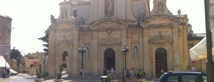 St. Paul's Parish Church is one of Malta Cultural Spots.