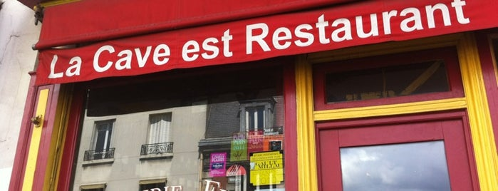 La Cave est restaurant is one of Montreuil and around.