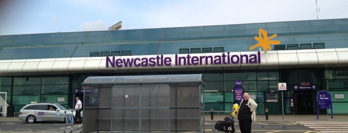 Newcastle International Airport (NCL) is one of Z. UK by ©Jalil.
