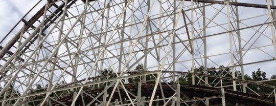 The Comet is one of ROLLER COASTERS.