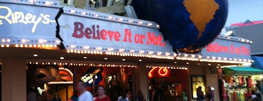 Ripley's Believe It or Not! is one of Things To Do In NJ.