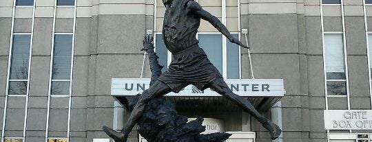 Michael Jordan Statue is one of Two days in Chicago, IL.