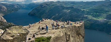 Preikestolen is one of Dream Destinations.