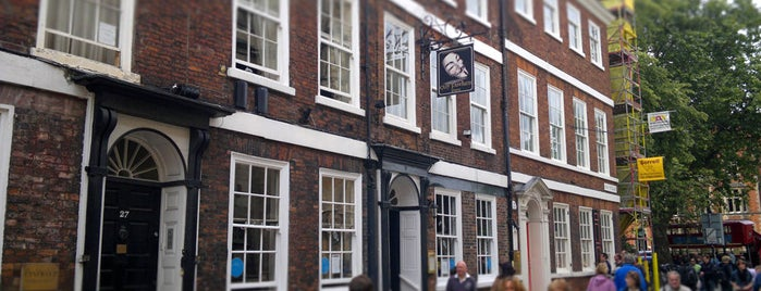 Guy Fawkes Inn is one of York's Best Drinking Holes.