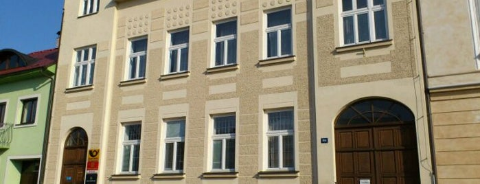 Česká Pošta is one of Místa v Napajedlích.