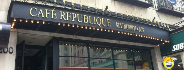 Café République is one of DEUCE44 III.