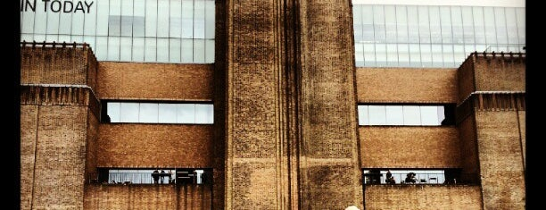 Tate Modern is one of London, August 2012.