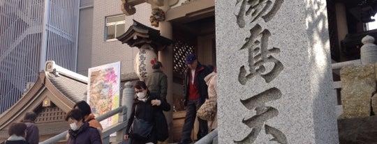 湯島天満宮 (Yushima-tenmangu Shrine) is one of 2009.03 Kanagawa Tiba Tokyo.
