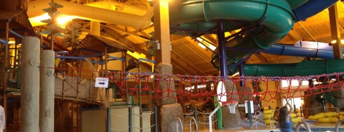 Tundra Lodge Waterpark is one of Family fun!.