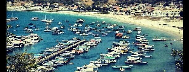 Praia dos Anjos is one of Região dos Lagos.