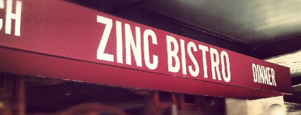 Zinc Bistro is one of Been There Done That.