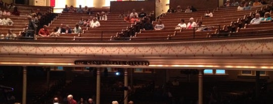 Ryman Auditorium is one of Places from the reporting trail.