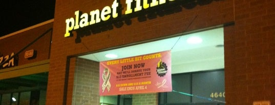 Planet Fitness is one of I'm Always Here.