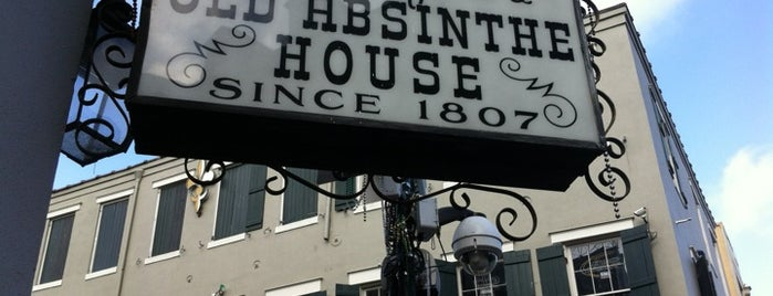 The Old Absinthe House is one of South & SW Old-Timey Bars, Cafes, and Restaurants.