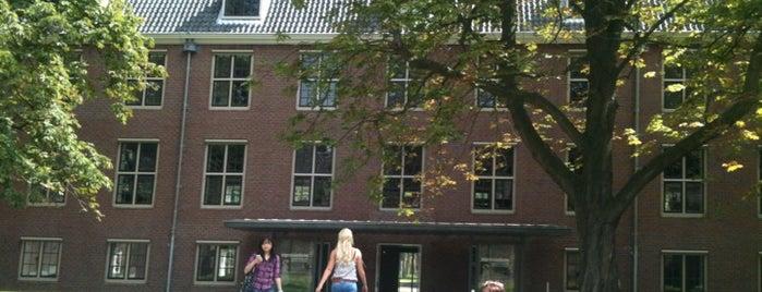 Binnenplaats Hermitage (Amstelhof) is one of Amsterdamse hofjes.