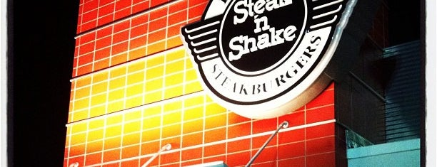 Steak 'n Shake is one of Atlanta 24-Hour Restaurants.