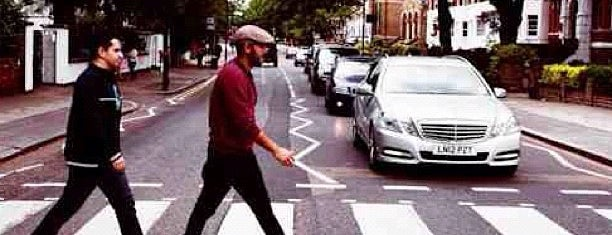 Abbey Road Crossing is one of London, August 2012.