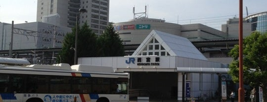 JR 西宮駅 (Nishinomiya Sta.) is one of JR線の駅.