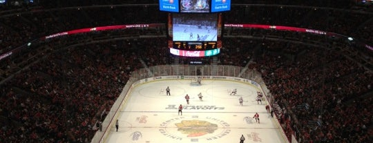United Center is one of JYM Hockey Arenas TOP100.