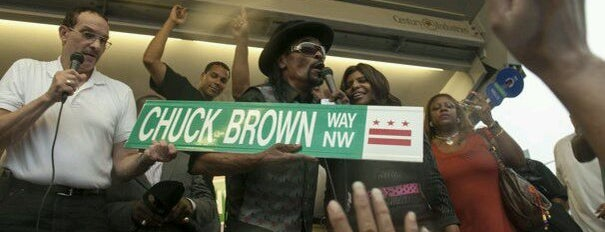 Chuck Brown Way is one of traveling.