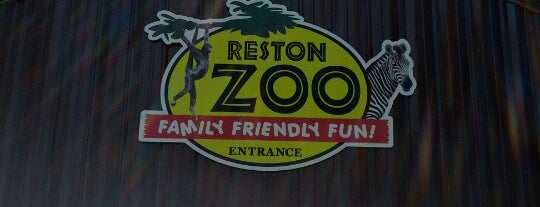 Reston Zoo is one of Best of Reston.
