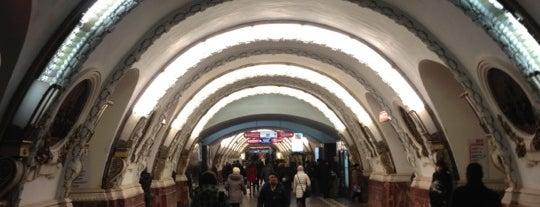 Метро «Площадь Восстания» (metro Ploshchad Vosstaniya) is one of Метро Санкт-Петербурга.
