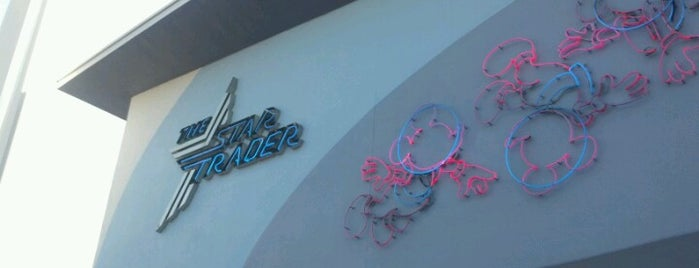The Star Trader is one of Disneyland Shops.
