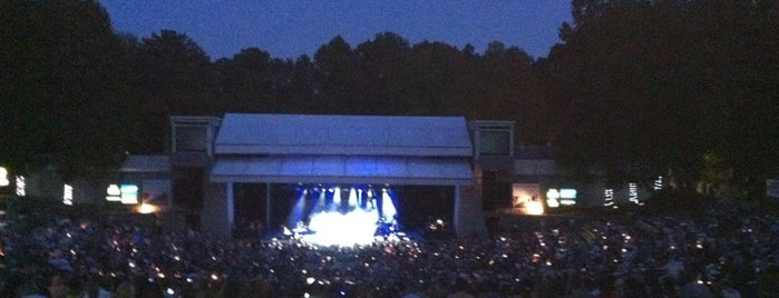 Chastain Park Amphitheater is one of Must-visit Performing Arts Venues in Atlanta.