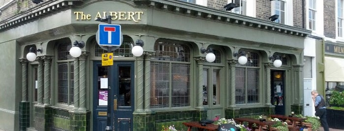 The Albert is one of BMAG's Pubs.