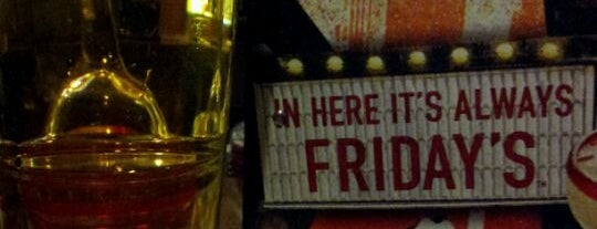 TGI Fridays is one of I've been here.