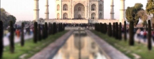 Taj Mahal is one of Dream Destinations.