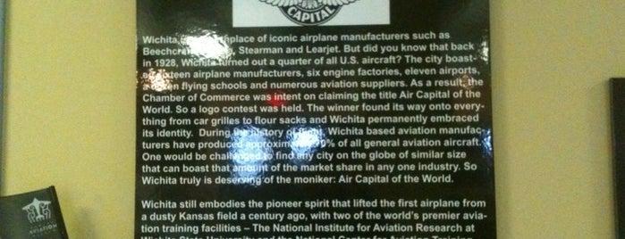 Kansas Aviation Museum is one of Wichita Must-Do's!!.