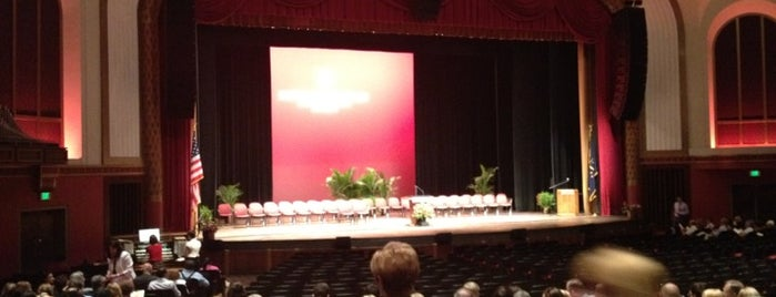 IU Auditorium is one of Welcome Week 2012.