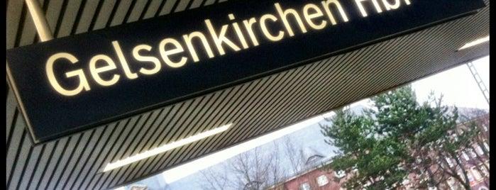 Gelsenkirchen Hauptbahnhof is one of Ausgewählte Bahnhöfe.
