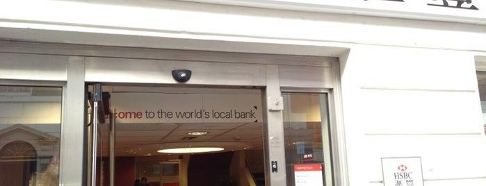 HSBC is one of Summer in London/été à Londres.