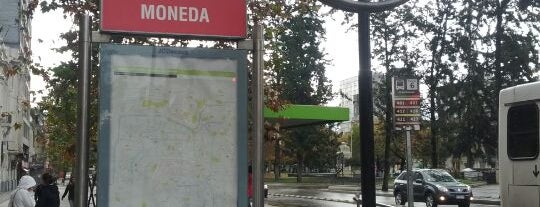 Metro La Moneda is one of Estaciones del Metro de Santiago.