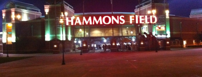 Hammons Field is one of something fun to do.
