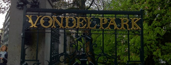 Vondelpark is one of Guide to Amsterdam's best spots.