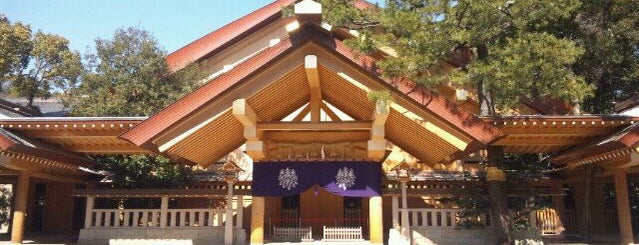 熱田神宮 (Atsuta-Jingū Shrine) is one of #4sqCities Nagoya.