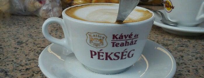 Katica Pékség Kávé- és Teaház is one of Visszatérés javasolt!.