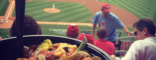 Busch Stadium Redbird Club is one of Where to find craft beer at Busch Stadium.