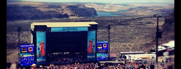 Sasquatch! Music Festival 2012 is one of Bing's Ultimate Music Festival Guide.