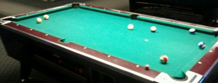 Pockets Billiards is one of favorites.