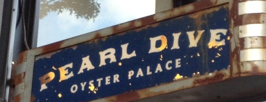 Pearl Dive Oyster Palace is one of 100 Very Best Restaurants - 2012.