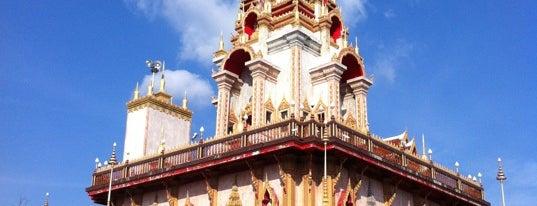 พระมหาธาตุเจดีย์ พระจอมไทยบารมีประกาศ is one of Holy Places in Thailand that I've checked in!!.