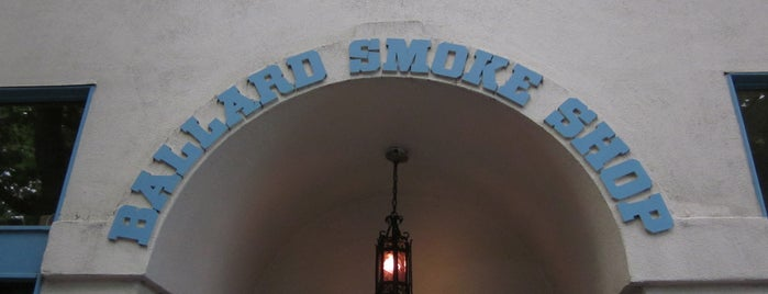 Ballard Smoke Shop is one of Favorite dive bars.