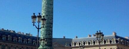 Place Vendôme is one of Shopping Paris.